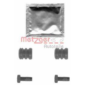 Zubehörsatz, Bremssattel mit OEM-Nummer A0004214686