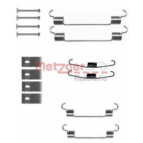 Комплект принадлежности, спирани челюсти 105-0833 Jazz 2 (GD_, GE3, GE2) 1.2 i-DSI (GD5, GE2) Г.П. 2007
