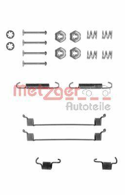 METZGER  105-0651 Zubehörsatz, Bremsbacken