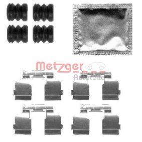 Zubehörsatz, Scheibenbremsbelag 109-1835 TWINGO 2 (CN0) 1.5 dCi Bj 2016