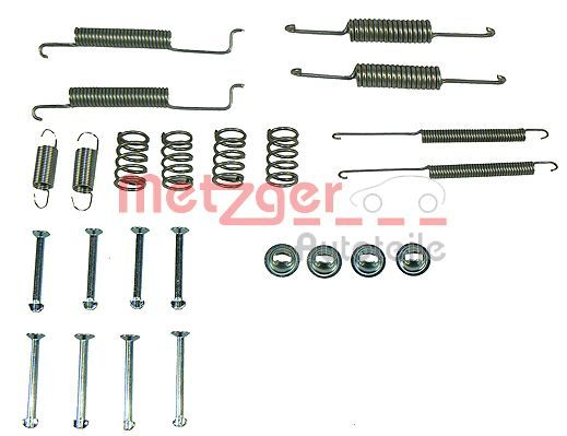 METZGER  105-0569 Zubehörsatz, Bremsbacken