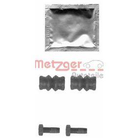 METZGER Zubehörsatz, Bremssattel 113-1339 für AUDI A3 (8P1) 1.9 TDI ab Baujahr 05.2003, 105 PS