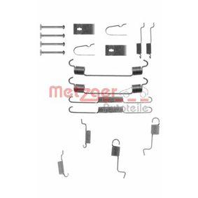Zubehörsatz, Bremsbacken 105-0742 323 P V (BA) 1.3 16V Bj 1997