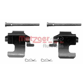 Accessory Kit, disc brake pads 109-1273 PANDA (169) 1.2 MY 2006