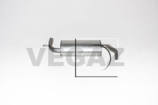 VEGAZ  MOS-115 Endschalldämpfer Länge: 970mm