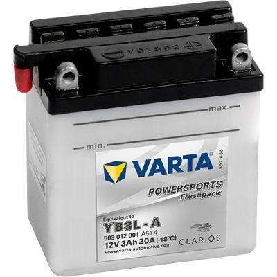 VARTA POWERSPORTS 503012001A514 Starterbatterie
