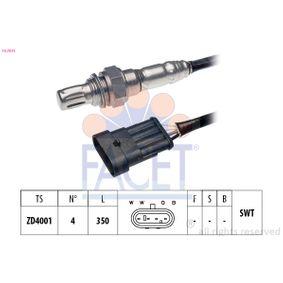 Lambdasonde Kabellänge: 350mm mit OEM-Nummer 46529385