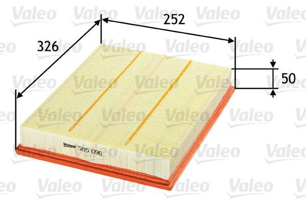 Artikelnummer 585096 VALEO Preise