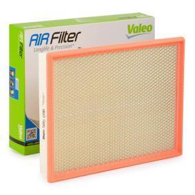 Luftfilter Länge: 326mm, Breite: 252mm, Höhe: 50mm, Länge: 326mm mit OEM-Nummer 835631