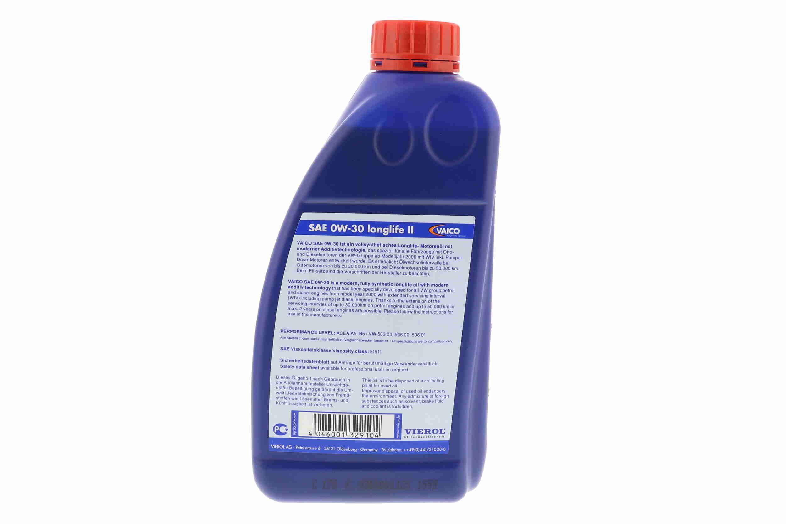 Olajszűrő V70-0216 VAICO V70-0216 eredeti minőségű