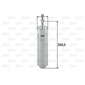 Fuel filter Height: 250,5mm with OEM Number 1332 7 788 700