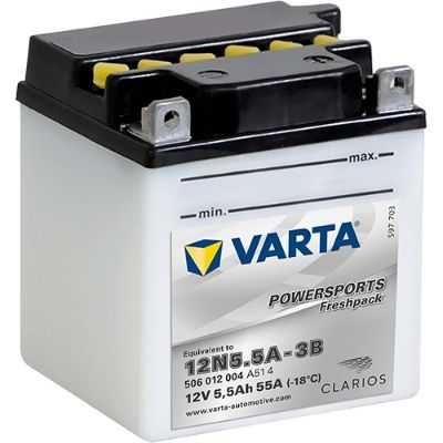 VARTA POWERSPORTS 506012004A514 Starterbatterie