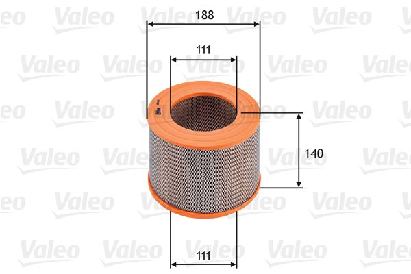 Luftfilter 585685 VALEO 585685 in Original Qualität