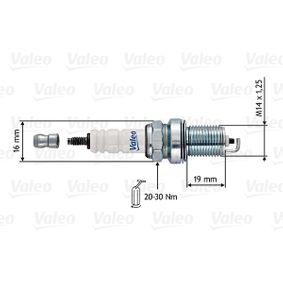 Candela accensione Dist. interelettrod.: 1,00mm con OEM Numero 55564215