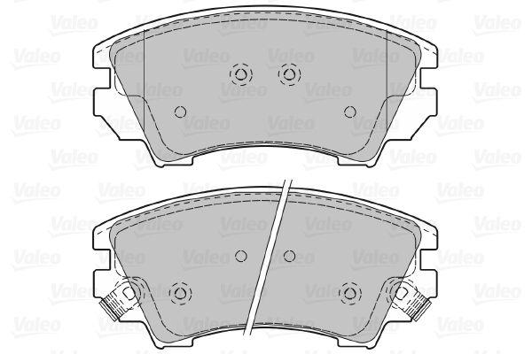 Disk brake pads VALEO 601046 rating
