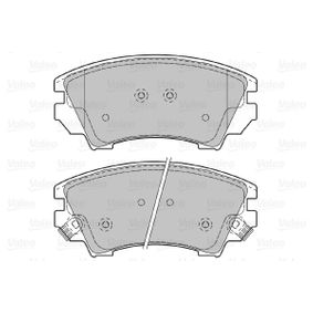 Brake Pad Set, disc brake Width: 141,8mm, Height: 66,6mm, Thickness: 19,3mm with OEM Number 1605 434