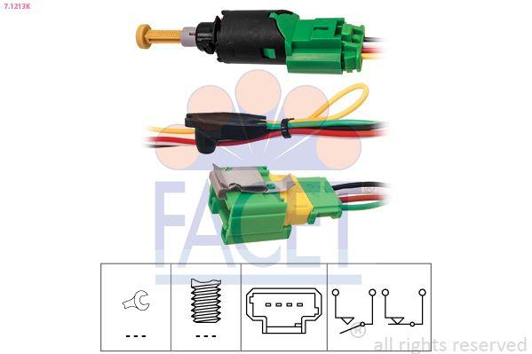 Image of FACET Interruttore luce freno 8012510232682