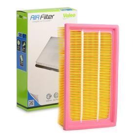Luftfilter Länge: 239mm, Breite: 141mm, Höhe: 57mm, Länge: 239mm mit OEM-Nummer 2232 400 QAB