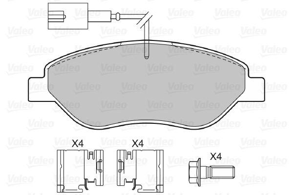 Bremsbelagsatz VALEO 598428 Bewertung