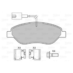 Bremsbelagsatz, Scheibenbremse Breite 1: 150,8mm, Höhe 1: 57,64mm, Dicke/Stärke 1: 19mm mit OEM-Nummer 9949279
