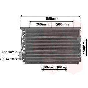 VAN WEZEL  06005191 Kondensator, Klimaanlage Netzmaße: 472x305x30