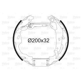 Bremsensatz, Trommelbremse mit OEM-Nummer 4242-16