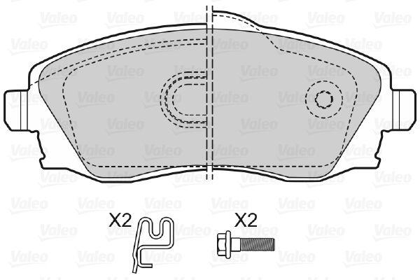 Bremsbelagsatz VALEO 598456 Bewertung