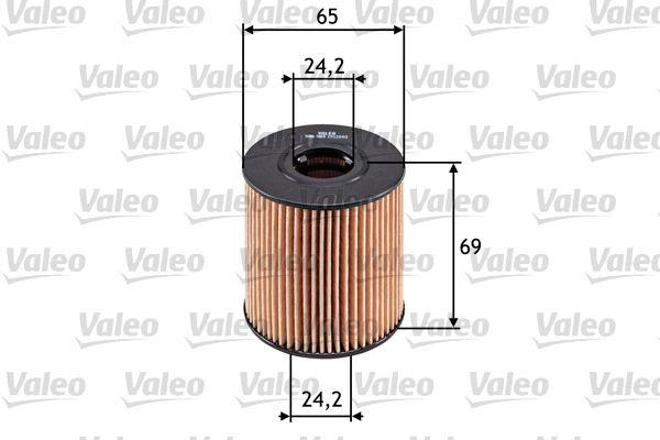 Filtro de Aceite 586503 VALEO 586503 en calidad original
