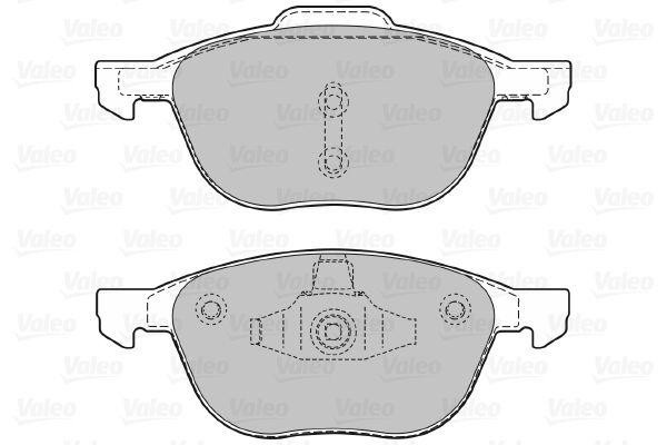Bremsbelagsatz VALEO 598649 Bewertung