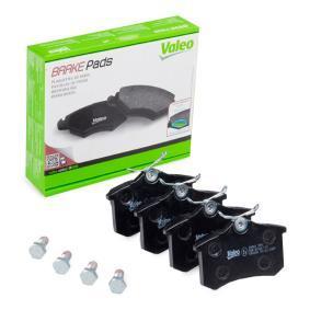 Bremsbelagsatz, Scheibenbremse Breite 1: 87,2mm, Höhe 1: 52,9mm, Dicke/Stärke 1: 15mm mit OEM-Nummer 1J06-9845-1F