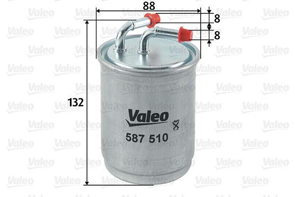 Artikelnummer 587510 VALEO Preise