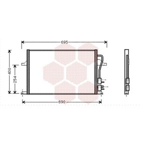 Kondensator, Klimaanlage Art. Nr. 18005259 120,00€