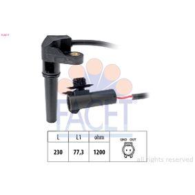 Sensor de Velocidad RENAULT MEGANE II (BM0/1_, CM0/1_) 1.6 16V de Año 01.2006 112 CV: Sensor de revoluciones, caja automática (9.0617) para de FACET