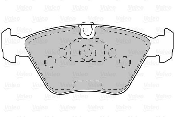 Bremsbelagsatz VALEO 598310 Bewertung