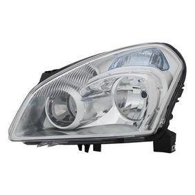 2011 Nissan Qashqai j10 1.6 Headlight 3388961