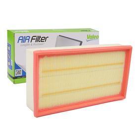 Luftfilter Länge: 280mm, Breite: 159mm, Höhe: 62mm, Länge: 280mm mit OEM-Nummer 77 01 047 478