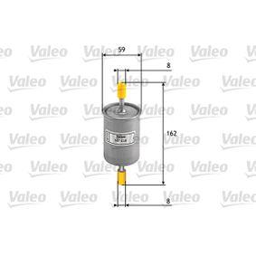 Filtro combustible 587028 MATIZ (M200, M250) 1.0LPG ac 2018