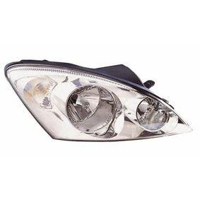 Hauptscheinwerfer für Fahrzeuge mit Leuchtweiteregelung (elektrisch), für Rechtsverkehr, chrom mit OEM-Nummer 92102 1H000