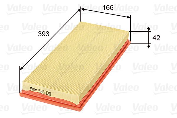 Filter 585120 VALEO 585120 in Original Qualität