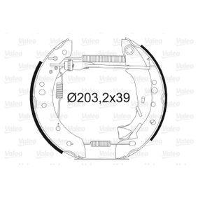 Bremsensatz, Trommelbremse mit OEM-Nummer 4242 01
