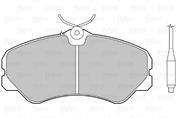 Bremsbelagsatz VALEO 598138 Bewertung