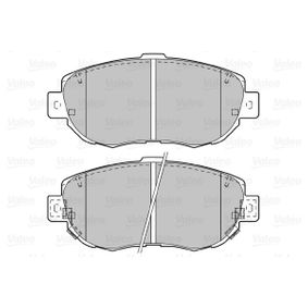 Bremsbelagsatz, Scheibenbremse Breite 1: 144mm, Höhe 1: 63,8mm, Dicke/Stärke 1: 17,5mm mit OEM-Nummer 04465 14081