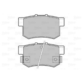 Brake Pad Set, disc brake Width: 88,9mm, Height: 47,1mm, Thickness: 14,6mm with OEM Number 43022- S9A-E52