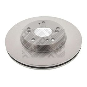 Brake Disc Brake Disc Thickness: 23mm, Num. of holes: 5, Ø: 282mm with OEM Number 45251-S7A-E10