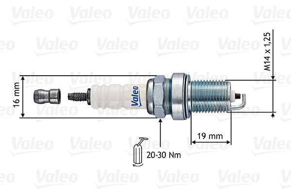 Spark Plug 246880 VALEO RF11HP1 original quality