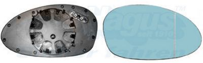 Side Mirror Glass VAN WEZEL 0657838 5410909430351