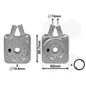 Маслен радиатор, двигателно масло 58003215 Golf 5 (1K1) 1.9 TDI Г.П. 2008