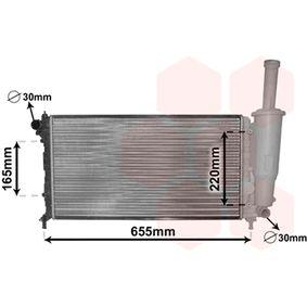 Radiator, engine cooling 17002218 PUNTO (188) 1.2 16V 80 MY 2000
