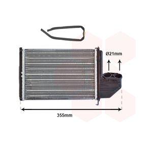 Wärmetauscher, Innenraumheizung Art. Nr. 06006172 120,00€