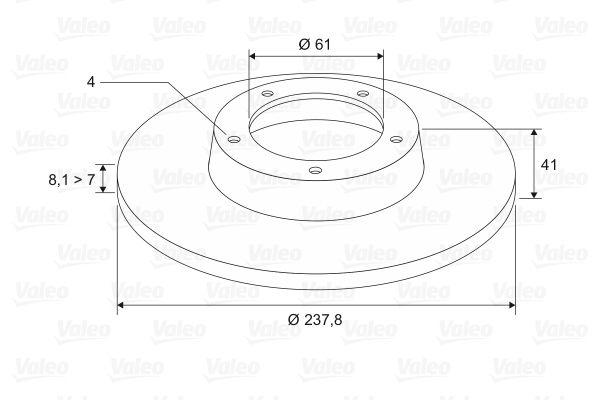 Scheibenbremsen VALEO 186228 Bewertung